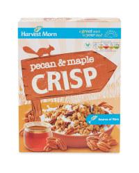Maple & Pecan Crisp Cereal