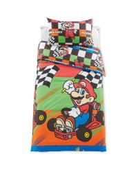 Mario Kart Single Duvet Set