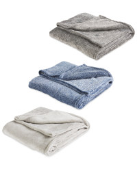Marl Fleece Throw