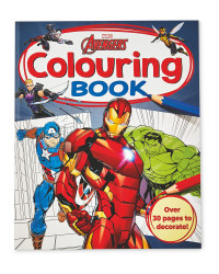 Marvel Avengers Colouring Book