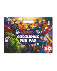 Marvel Avengers Colouring Fun Pad