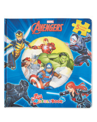 Marvel Avengers My First Puzzle Book