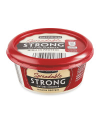 Spreadable Strong Mature Cheddar