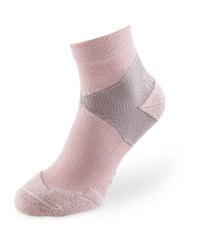 Mauve/Grey Ankle Trekking Socks