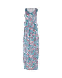 Avenue Grey Floral Maxi Dress