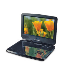 "Maxtek 10"" Portable Dvd Player - Black"