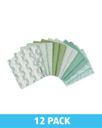 Meadow Green Fat Quarters 12 Pack