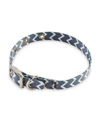 Medium Chevron Dog Collar