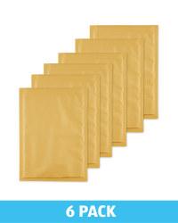 Medium Padded Envelopes 6 Pack