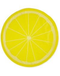 Medium Round Lemon Pet Cooling Mat