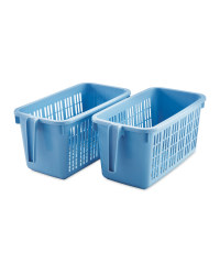 Medium Storage Caddy Set 2-Pack - Blue