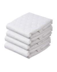 Mega Bounce Pillow Protector 4 Pack