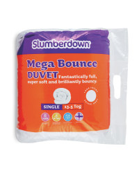 Mega Bounce Single 13.5 Tog Duvet
