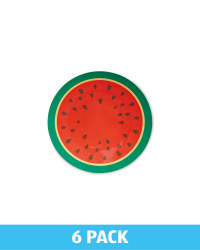 Melamine Watermelon Side Plate Pack