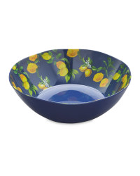 Melamine Lemon Salad Bowl