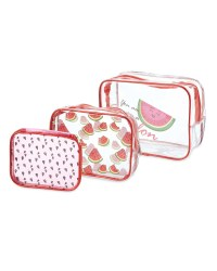Avenue Melon Cosmetic Bag Set