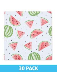 Melon Printed Napkins