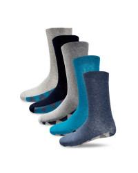 Men's Argyle Footbed Socks 5-Pack
