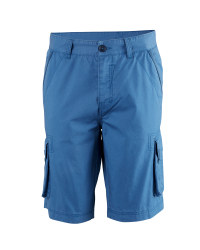 Men's Bermuda Cargo Shorts - Mid-Blue