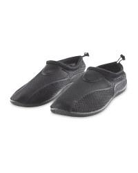 Men's Black Aqua Shoes