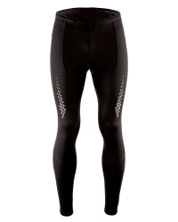 Men's Black Cycling Tights