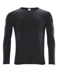 Crane Men's Black Long Sleeved Top