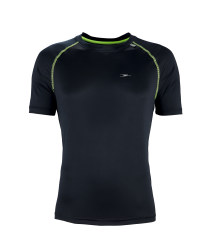 Men's Black Running T-Shirt