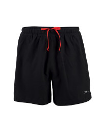Men's Black/Red Running Shorts