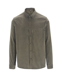 Men's Corduroy Shirt - Green