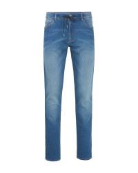 Avenue Men's Blue Jeans