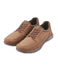 Men's Tan Casual Comfort Shoes