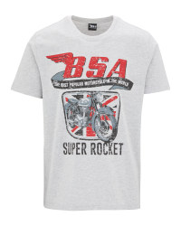 Men's Grey BSA T-Shirt