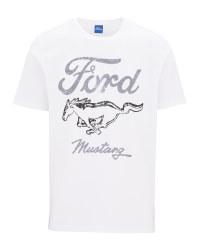 Men's White Ford T-Shirt