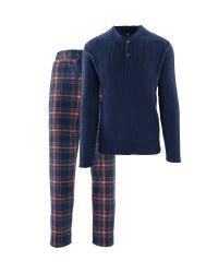 Men's Check Fleece Loungewear
