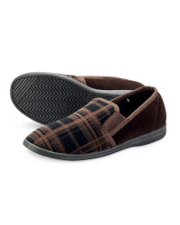 Men's Classic Slippers - Brown