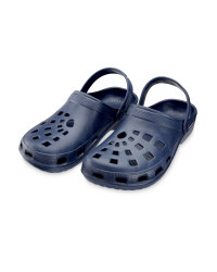 Men's Clogs - Navy