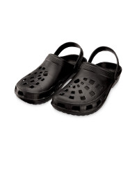 Men's Clogs - Black