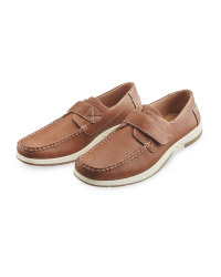 Avenue Men's Comfort Shoes - Tan