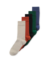 Men's Neutral Socks 5 Pack