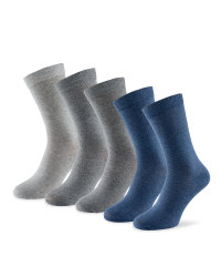 Men's Cotton Rich Socks 5-Pack