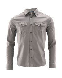 Men's Cotton Shirt - Grey