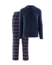 Men's Fairisle Fleece Loungewear