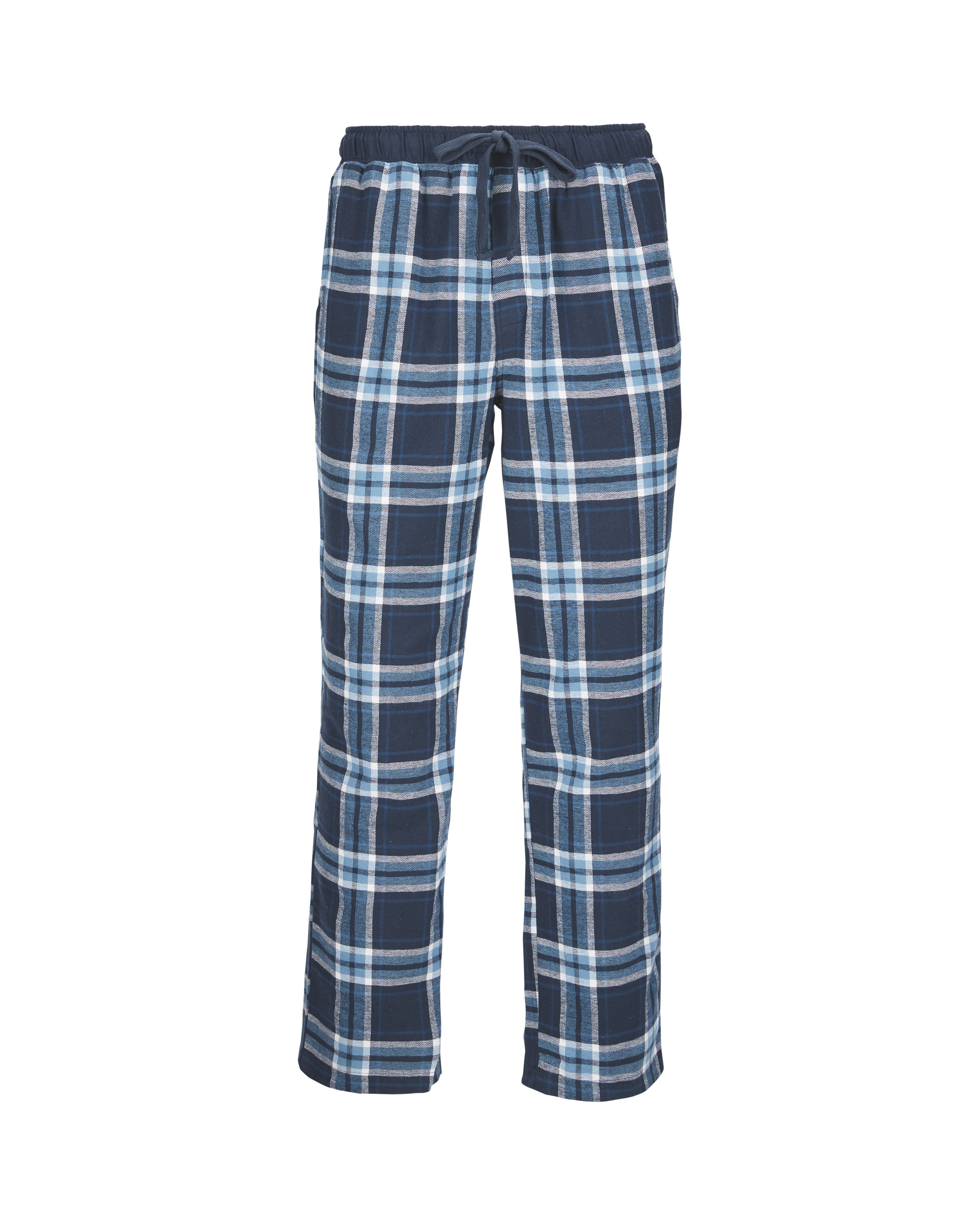 97a37bbe0b52a Men's Flannel Lounge Pants Navy/Blue - ALDI UK