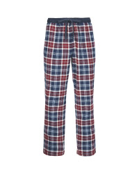 Men's Flannel Lounge Pants Navy/Red