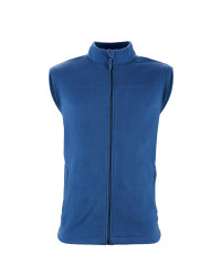 Men's Fleece Gilet - Navy