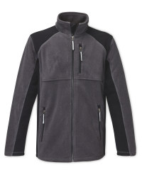 Men's Fleece Jacket Grey