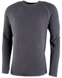 Men's Fleece Sweater - Anthracite
