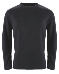 Men's Fleece Sweater - Black