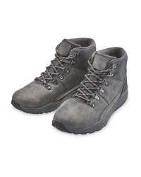 Avenue Men's Grey Comfort Boots