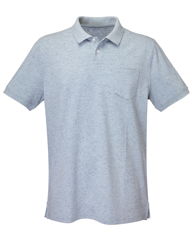 Men's Grey Polo Shirt